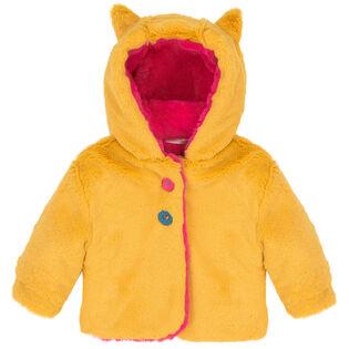 Girls' [3-6] Reversible Faux Fur Jacket