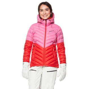 Women's Frost Down Hood Blocked Jacket