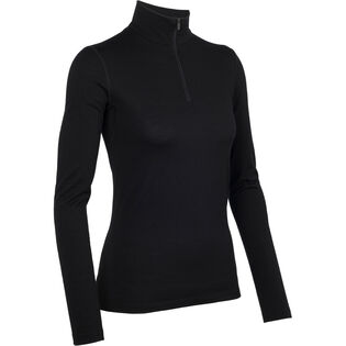 Women's Oasis Long Sleeve Half Zip Top