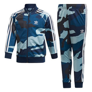 Boys' [4-7] Camouflage SST Two-Piece Track Suit