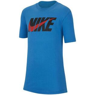 T-shirt Swoosh Block pour garçons juniors [8-16]