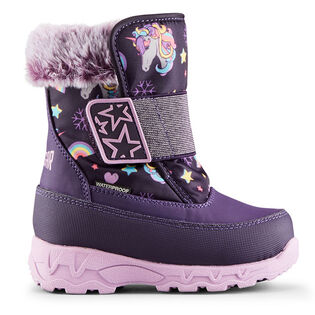 Babies' [5-10] Shine Nylon Winter Boot