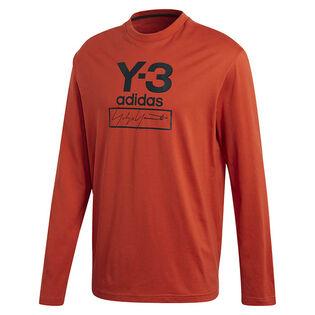 Men's Stacked Logo Long Sleeve T-Shirt