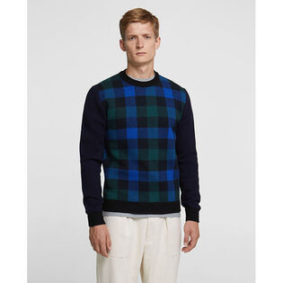 Men's Buffalo Merino Crew Neck Sweater