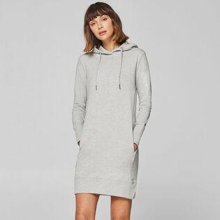 Women's Cotton-Blend Hoodie Dress