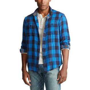 Men's Custom Fit Plaid Twill Shirt