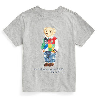 Boys' [2-4] Polo Bear Cotton Jersey T-Shirt