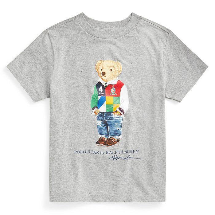 T-shirt en jersey de coton Ours Polo pour garçons [2-4]