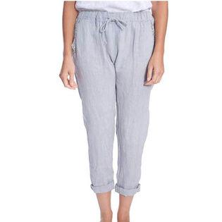 Pantalon ajusté à cordon pour femmes