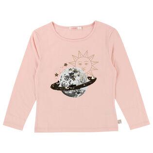 Girls' [3-6] Reversible Planet T-Shirt