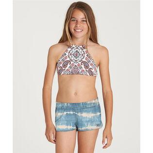 Short de surf Lil Bliss pour filles juniors [7-14]