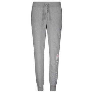 Junior Girls' [7-16] Script French Terry Jogger Pant