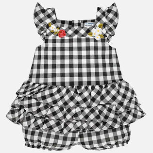 Baby Girls' [0-18M] Gingham Romper