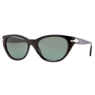 Suprema Crystal Sunglasses (Black)