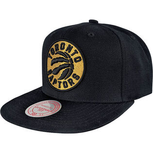 Men's Toronto Raptors Team Gold Snapback Hat