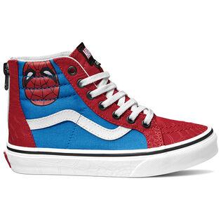 Juniors' [12-4] Spider-Man Sk8-Hi Zip Sneaker