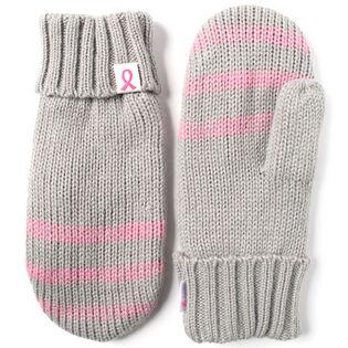 Women's Stripe Mittens
