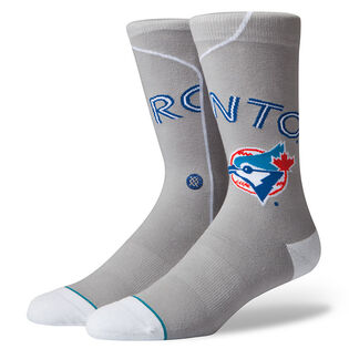 Men's MLB Blue Jays Crew Sock