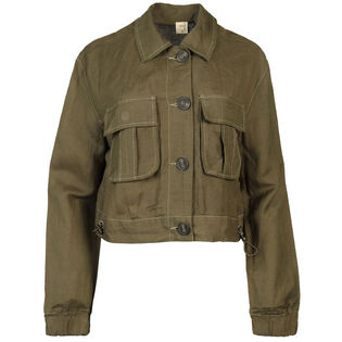 Women's Cropped Utility Jacket