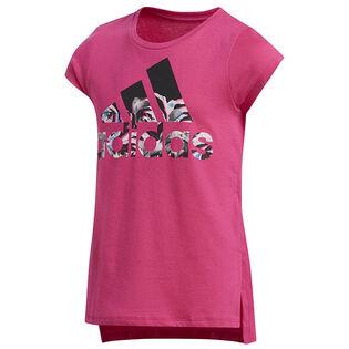Junior Girls' [8-16] Vented T-Shirt