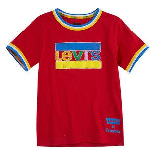 T-shirt Crayola® Ringer pour garçons [4-7]