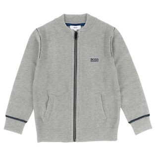 Junior Boys' [4-16] Zip Cardigan Sweater
