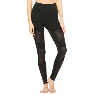 Women's High Waist Moto Legging