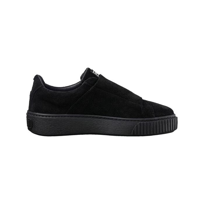 10c9fd39df7 Women s Platform Strap Satin EP Sneaker