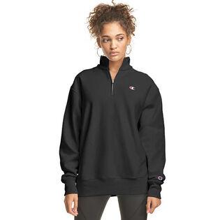 Women's Oversized Reverse Weave® Quarter-Zip Sweatshirt