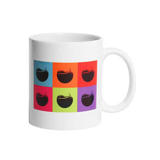 Pop Art Tennis Ball Mug