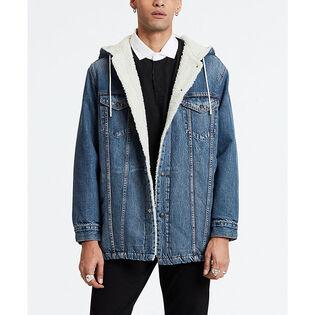Men's Long Sherpa Trucker Jacket