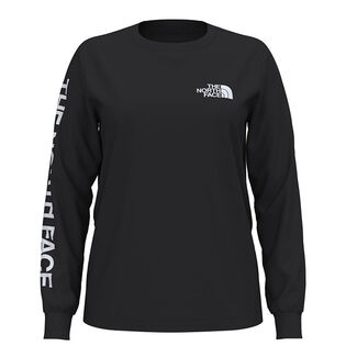 Women's Simple Logo Long Sleeve T-Shirt