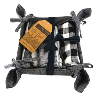 Tea Towel Basket Set