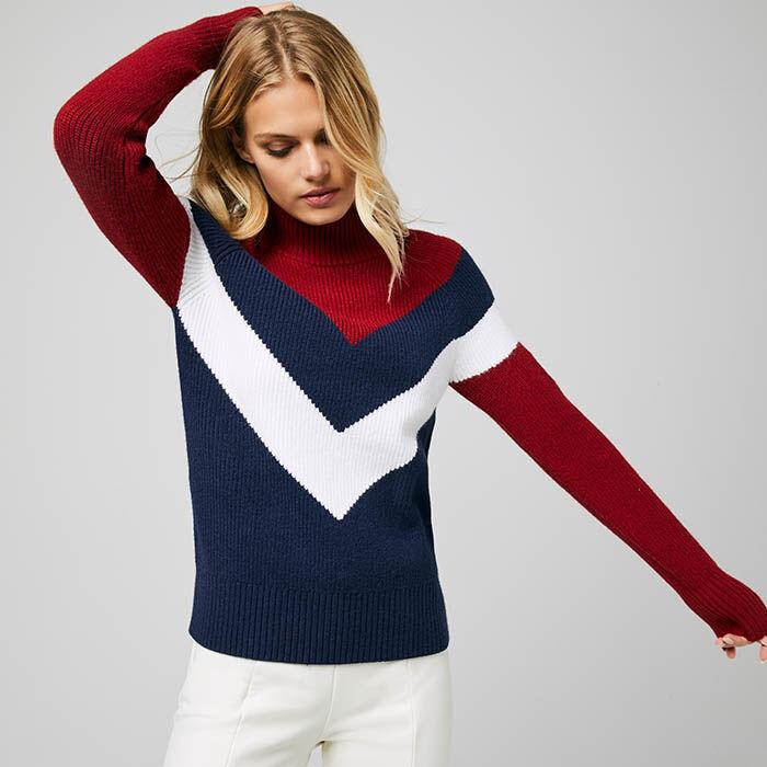 Women's Slalom Mock-T Sweater