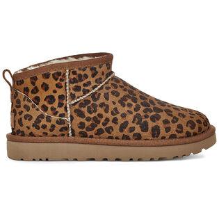 Women's Classic Ultra Mini Leopard Boot