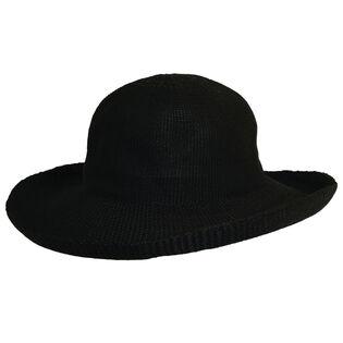Women's Polyknit Upturn Roller Hat