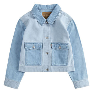 Girls' [4-6X] Cropped Utility Trucker Jacket