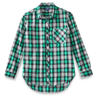 Women's Boyfriend Fit Flannel Shirt