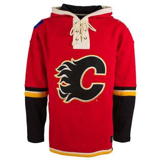 Men's Calgary Flames Lacer Hood Sweashirt