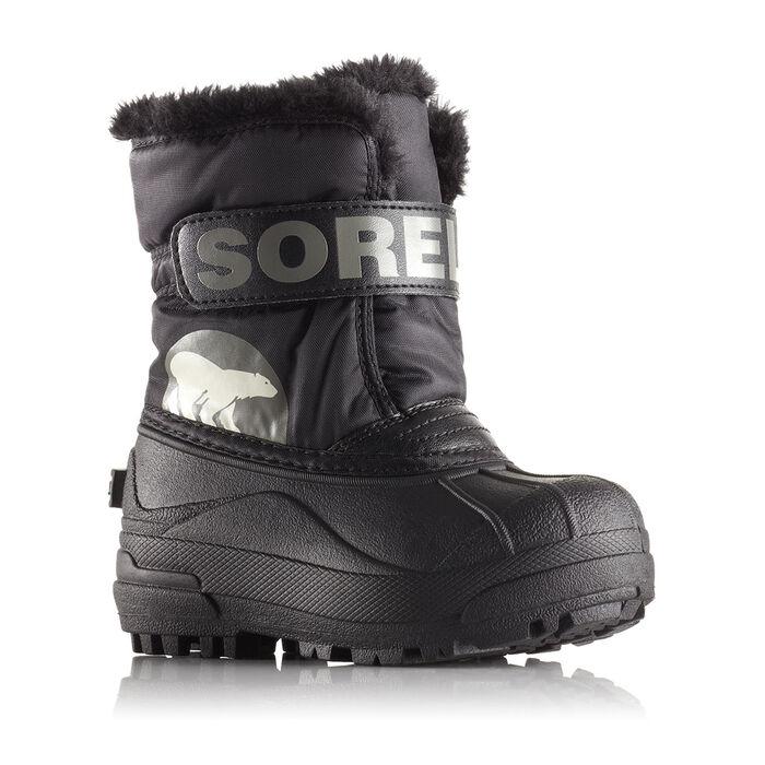 Bottes Snow Commander™ pour juniors - noir/gris foncé