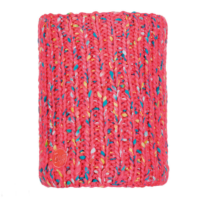 Yssik Pink Fluor Knitted Neck Warmer