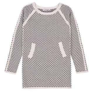 Kid Girls' [2-6] In Time Checker Long Sweater
