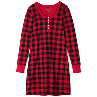 Women's Buffalo Plaid Night Dress
