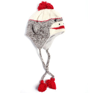 Women's Sock Monkey Wool Hat