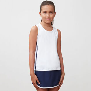 Junior Girls' [8-16] Piped Tank Top
