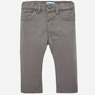 Baby Boys' [12-36M] Twill Pant