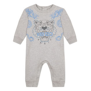 Baby Boys' [6-18M] Tiger Fleece Jumpsuit