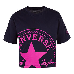 Junior Girls' [7-16] Oversized Logo T-Shirt