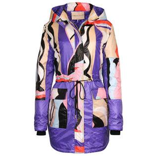 Women's Vallauris Print Panelled Coat