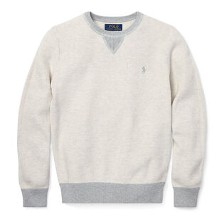 Junior Boys' [8-20] Cotton Crew Neck Sweater